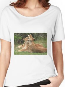Lions On The Masai Mara Women's Relaxed Fit T-Shirt