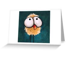Bad Hair Day Greeting Card
