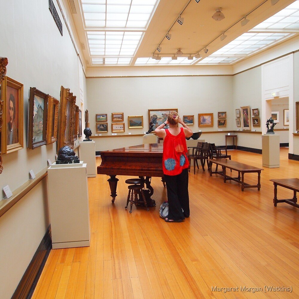 The photographer in action - Castlemaine Gallery Vic Aust by Margaret Morgan (Watkins)