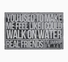 Real Friends- I've Given Up On You- Sticker by x-rose-x x-joy-x