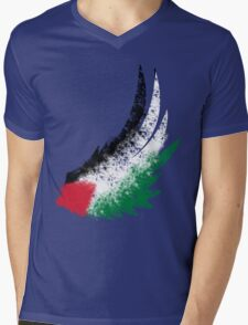 Free Palestine Mens V-Neck T-Shirt