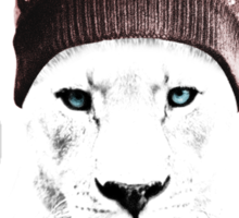 Xmas Lioness Sticker