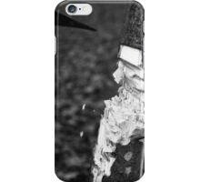 the tree versus the axe iPhone Case/Skin