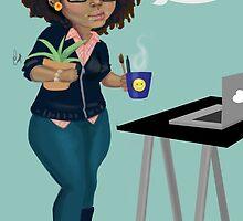 Danni illustration  by Danni Campbell