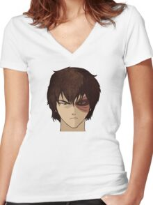 Prince Zuko Women's Fitted V-Neck T-Shirt