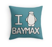 We all heart Baymax Throw Pillow