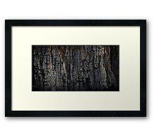 The Rock That Split Gondwana Framed Print