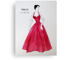 Vogue 1950s Canvas Print