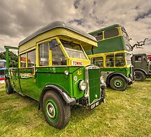 Bus Tow Truck  by Rob Hawkins