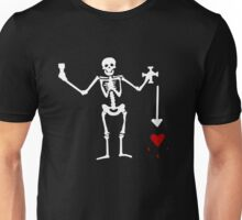 Olivier Levasseur Pirate Flag Unisex T-Shirt