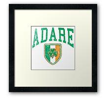 ADARE Ireland Framed Print