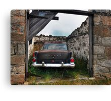 The Taxi Canvas Print