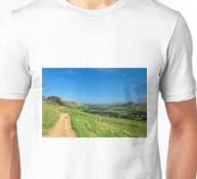 The Vale of Edale from the Pennine Way Unisex T-Shirt