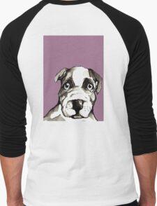 Dog 3 Men's Baseball ¾ T-Shirt