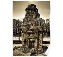 Temples of Angkor - Cambodia Poster