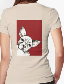 Dog 1 Womens Fitted T-Shirt
