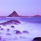 Pyramid rock by Tony Middleton