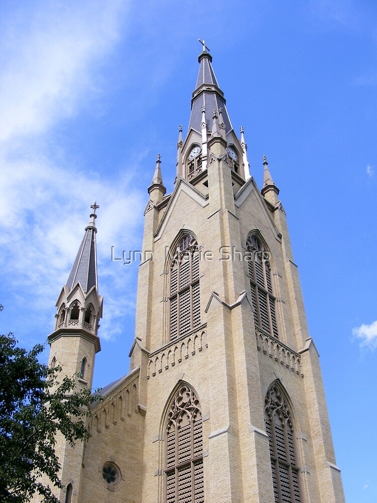 Notre Dame, Indiana- USA ~ Basilica of the Sacred Heart by Marie Sharp