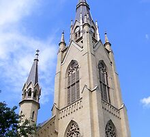 Basilica of the Sacred Heart ~ Notre Dame, Indiana- USA by Marie Sharp