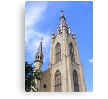Basilica of the Sacred Heart ~ Notre Dame, Indiana- USA Canvas Print