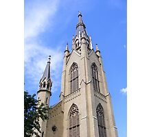 Basilica of the Sacred Heart ~ Notre Dame, Indiana- USA Photographic Print