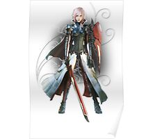 Final Fantasy Lightning Returns - Lightning (Claire Farron) Poster