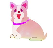 Badly Drawn Pups: Pastel Pup by GottyKoby
