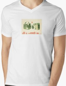 Valentine Mens V-Neck T-Shirt