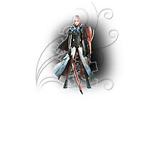 Final Fantasy Lightning Returns - Lightning (Claire Farron)² Photographic Print