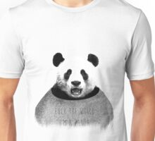 F*ck the world, I'm a Panda. Unisex T-Shirt