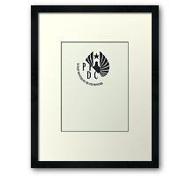 Pacific Rim- PPDC NERV Logo Framed Print