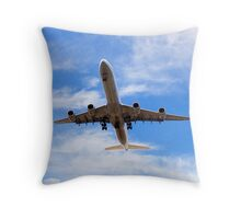 Airplane Joke Throw Pillow