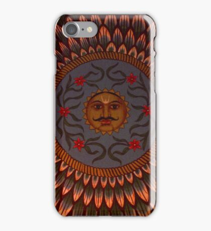 Indian Moustache  iPhone Case/Skin