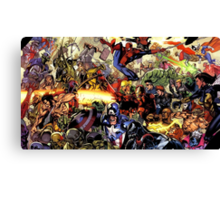the hero are back Canvas Print