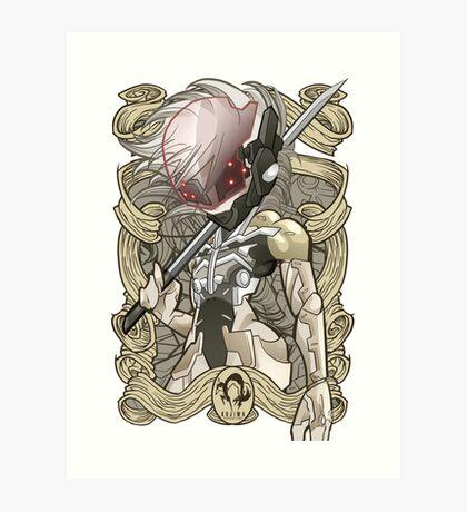 Raiden - MGS4 Art Print