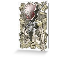 Raiden - MGS4 Greeting Card
