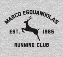 Marco Esquandolas Running Club Kids Clothes