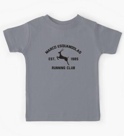 Marco Esquandolas Running Club Kids Tee