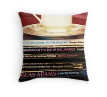 Hitchhiker's Guide - The Trilogy That Keeps On Giving Throw Pillow