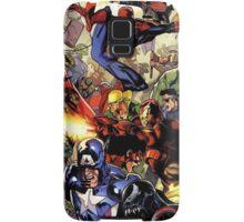 the hero are back Samsung Galaxy Case/Skin