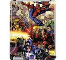 the hero are back iPad Case/Skin