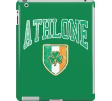 Athlone, Ireland with Shamrock iPad Case/Skin