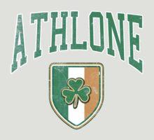 Athlone, Ireland with Shamrock by Greenbaby