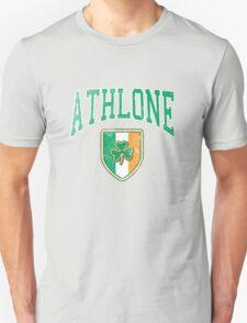 Athlone, Ireland with Shamrock T-Shirt