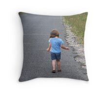 As I was saying...... Throw Pillow