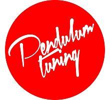 Pendulum Tuning Logo (Script) Photographic Print