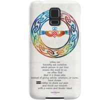Love And Friendship Art by Sharon Cummings Samsung Galaxy Case/Skin