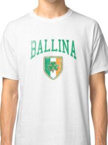 Ballina, Ireland with Shamrock Classic T-Shirt