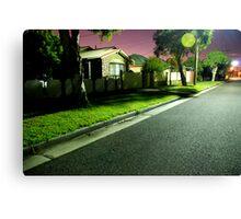 Night Scene 2 Canvas Print