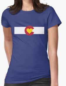 Colorado Love Womens Fitted T-Shirt